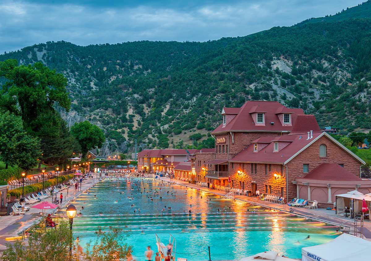 How Glenwood Hot Springs Will Heal Your Body Soul Coloradocom