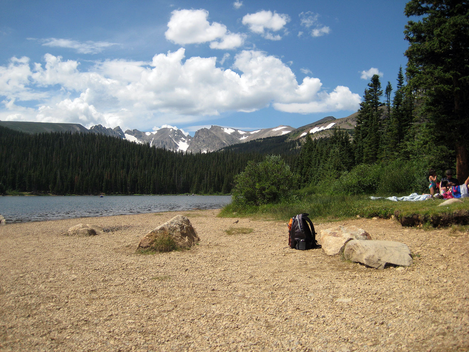 Shadow mountain lake colorado campgrounds with hookups in black