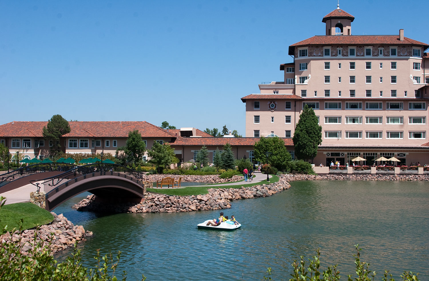The Broadmoor Hotel In Colorado Springs