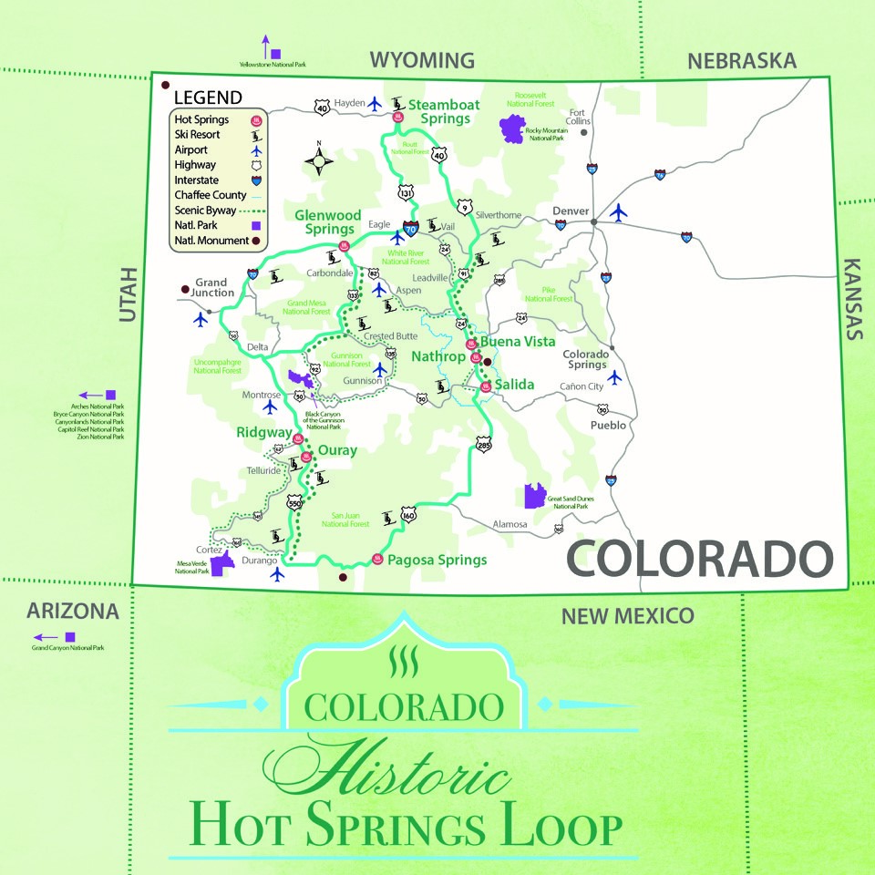 Colorado Historic Hot Springs Loop | Colorado.com on