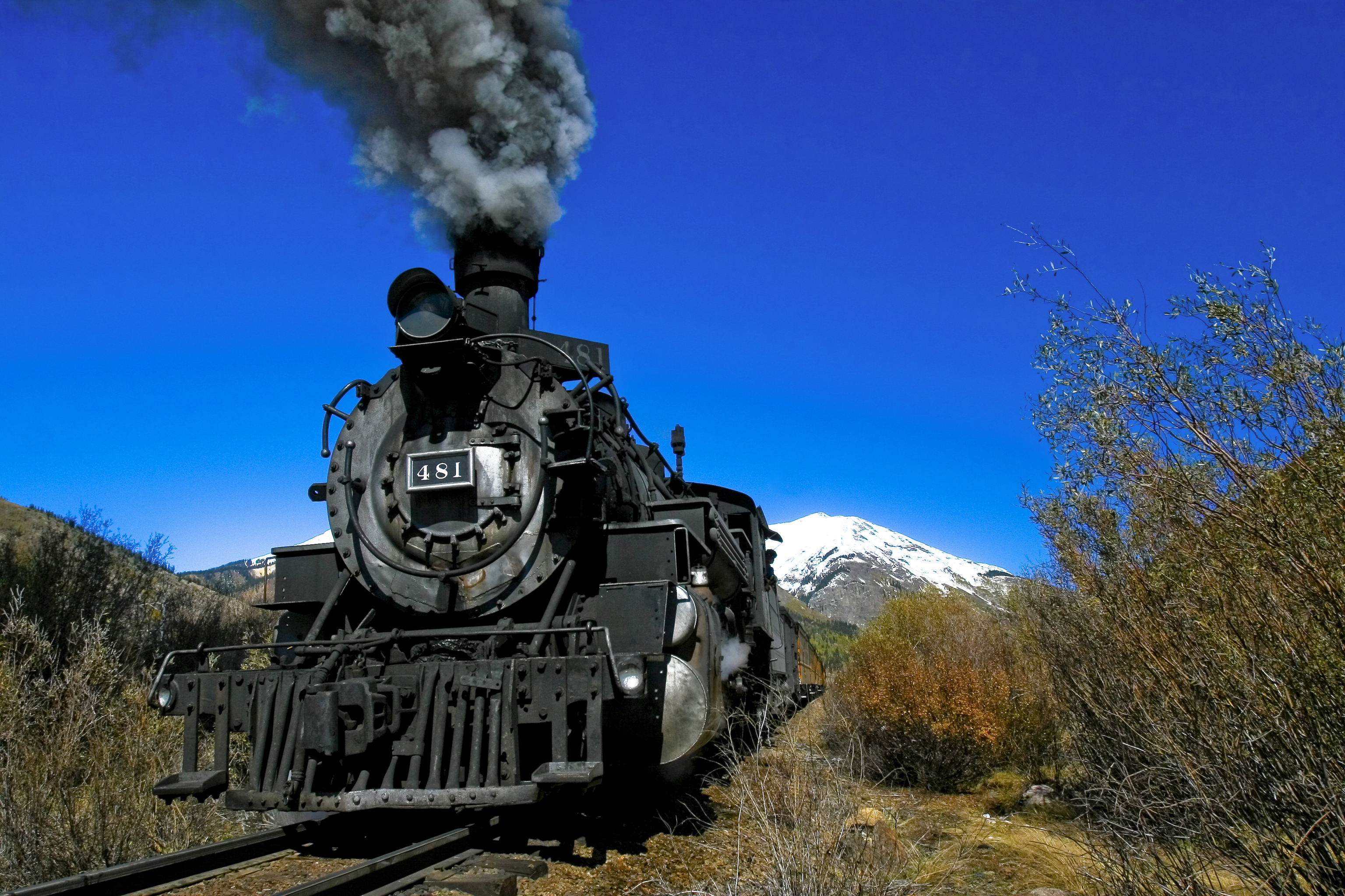 Key West Hotels >> Engine 481 of the Durango and Silverton Narrow Gauge ...