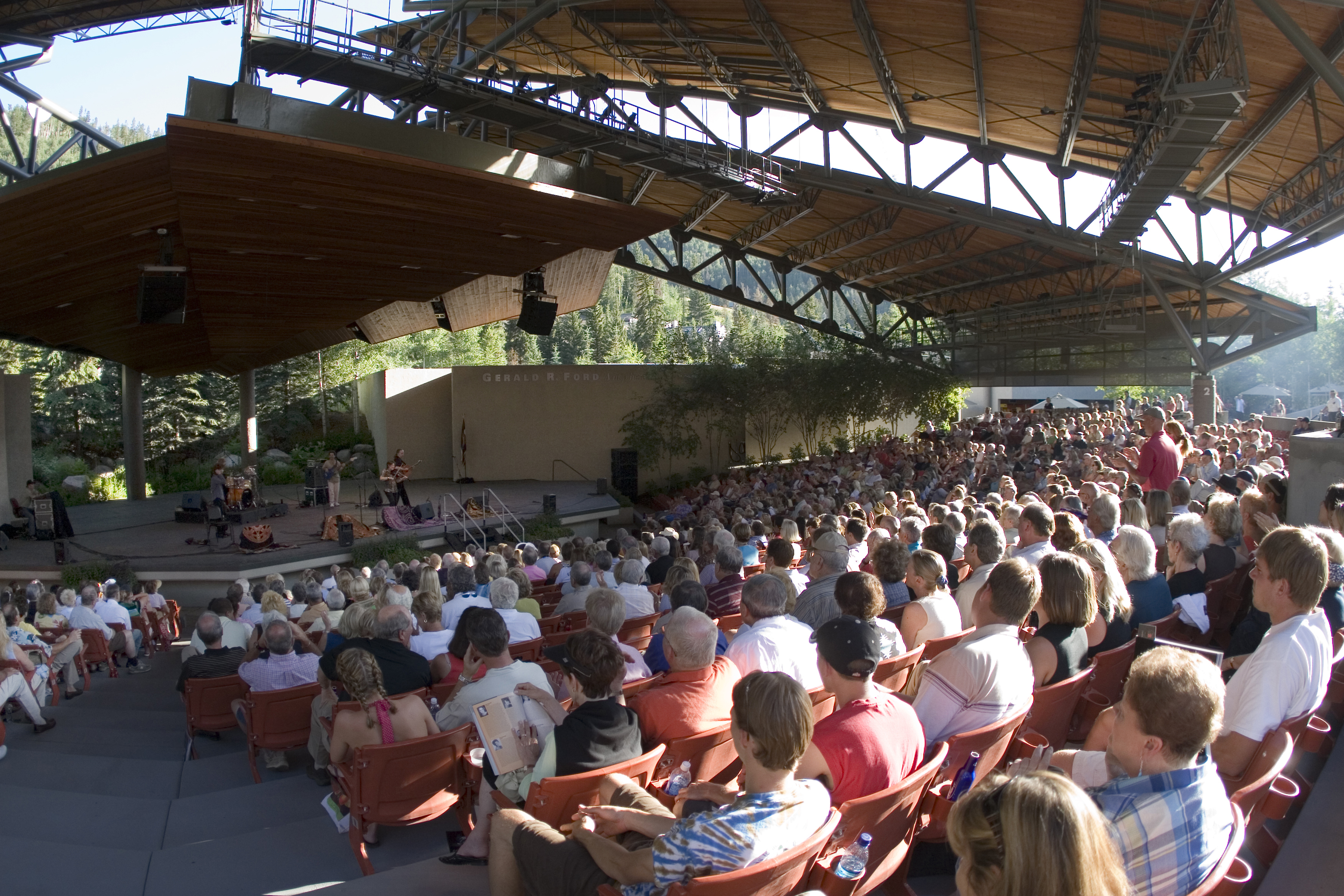 A Concert At The Gerald R Ford Amphitheater In Vail