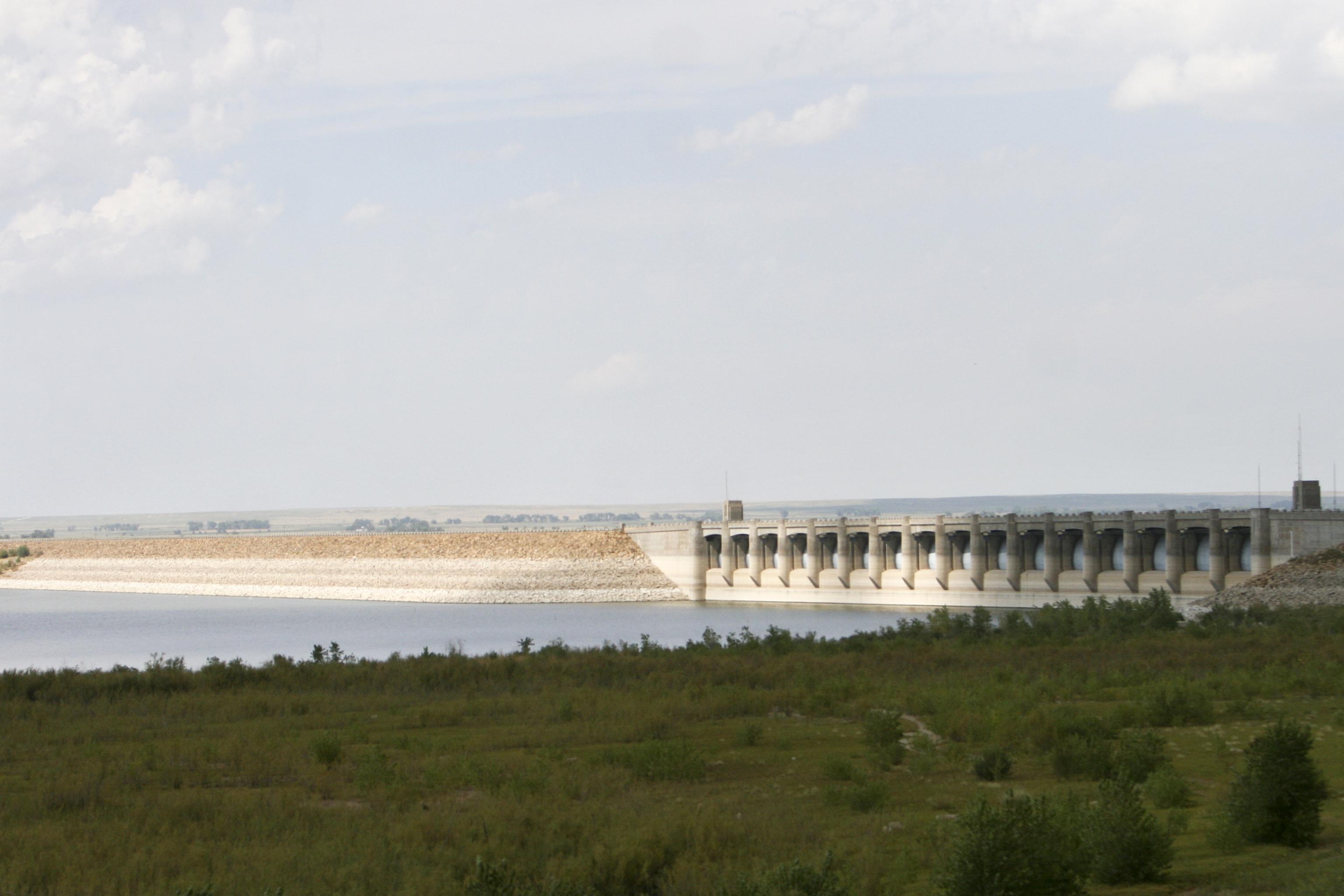 The Dam At John Martin Reservoir State Park In Lamar Colorado Com