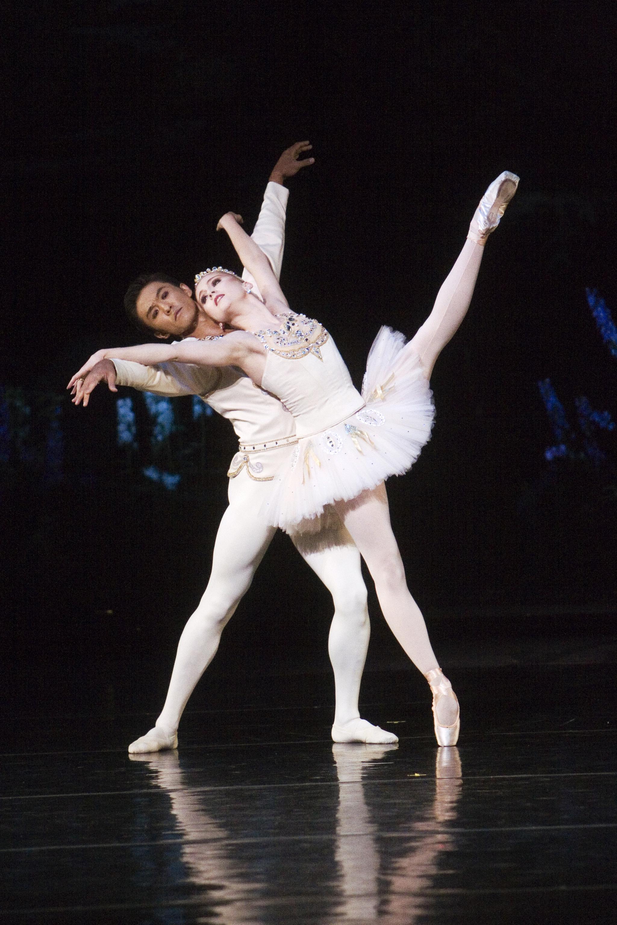 Ballet Dancers At The Vail International Dance Festival