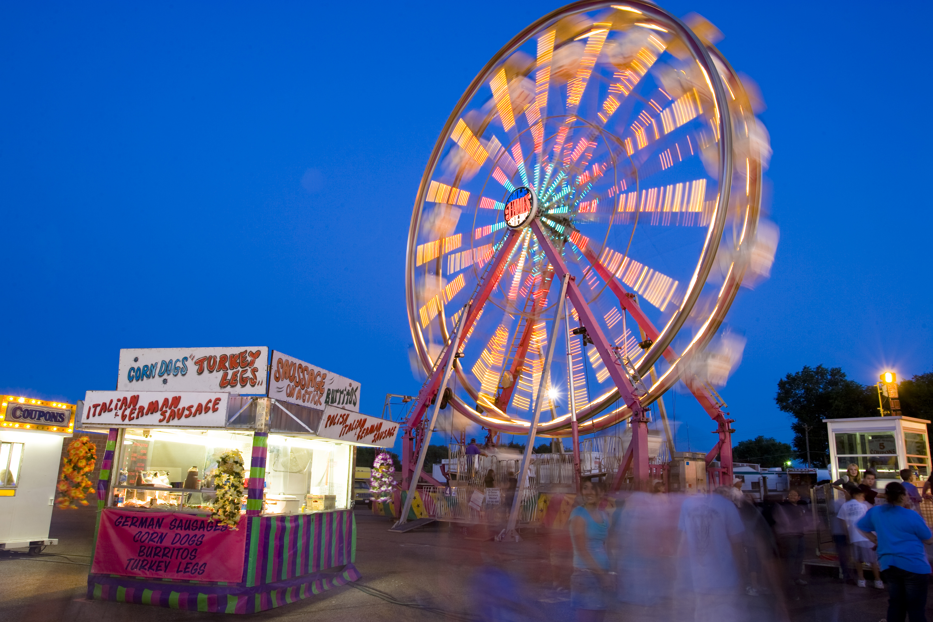 Rides At The Colorado State Fair In Pueblo Colorado Com