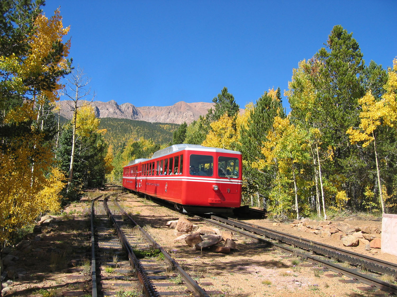 Riding The Pikes Peak Cog Railway