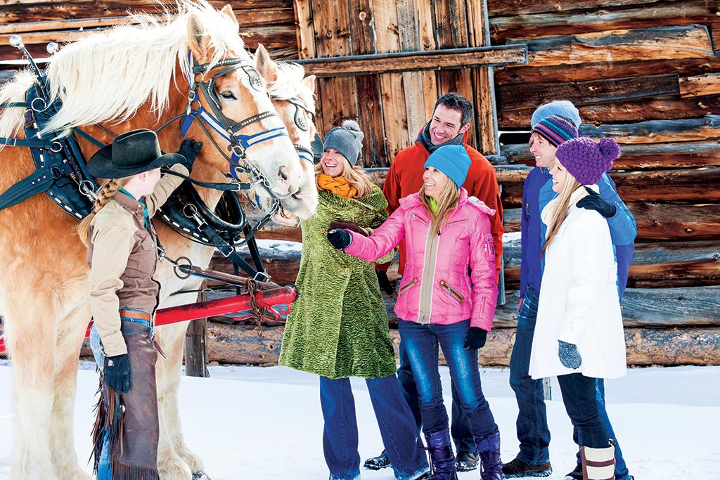 Colorado winter getaway activities for Family winter vacation ideas