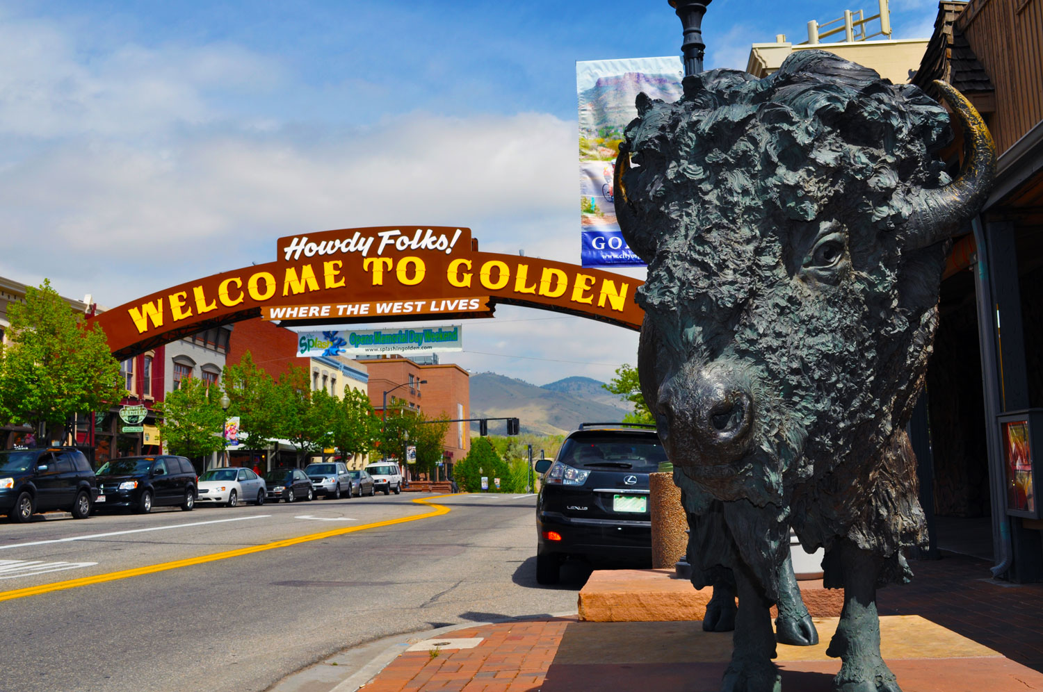Downtown Golden Where July S Annual Buffalo Bill Days Celebration Is Held