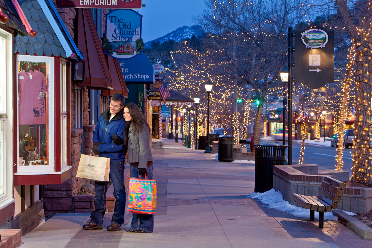Unique Outdoor Shopping In Colorado Colorado