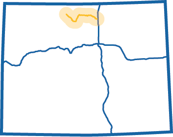 Cache la Poudre-North Park Map