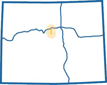 Guanella Pass Blue Map