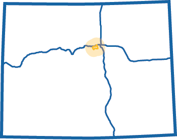 Lariat Loop Blue Map