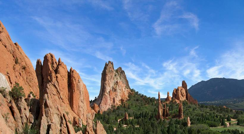 Experience The Grandeur Of Garden Of The Gods Park