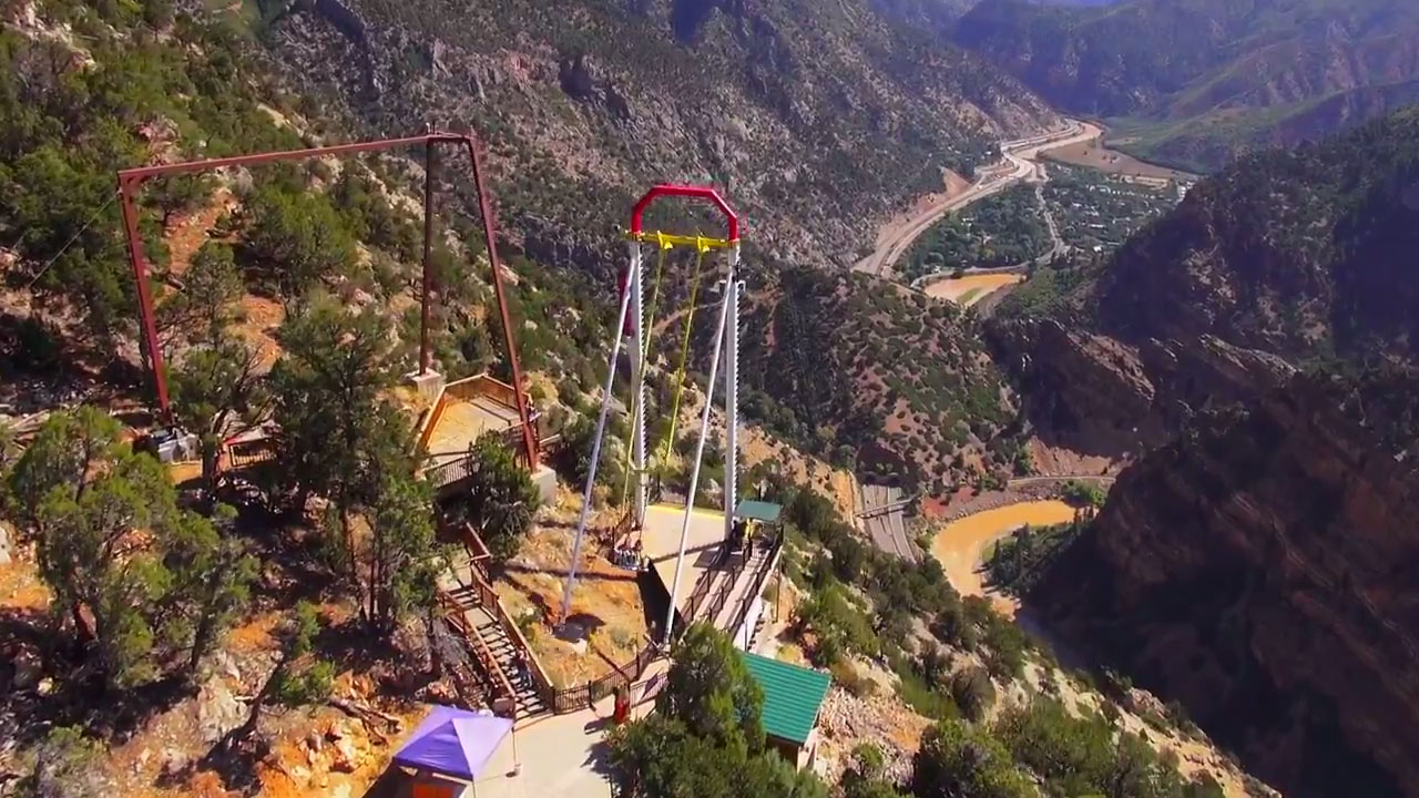 Glenwood Caverns Adventure Park Iron Mountain Hot Springs