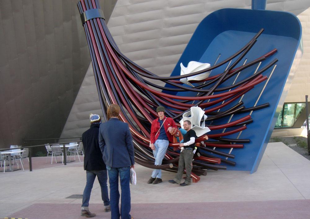 Public art walking tour of denver for Craft show denver convention center