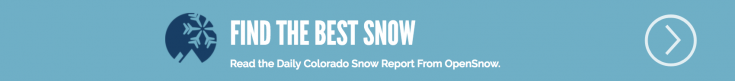 OpenSnow Colorado Snow Forecast