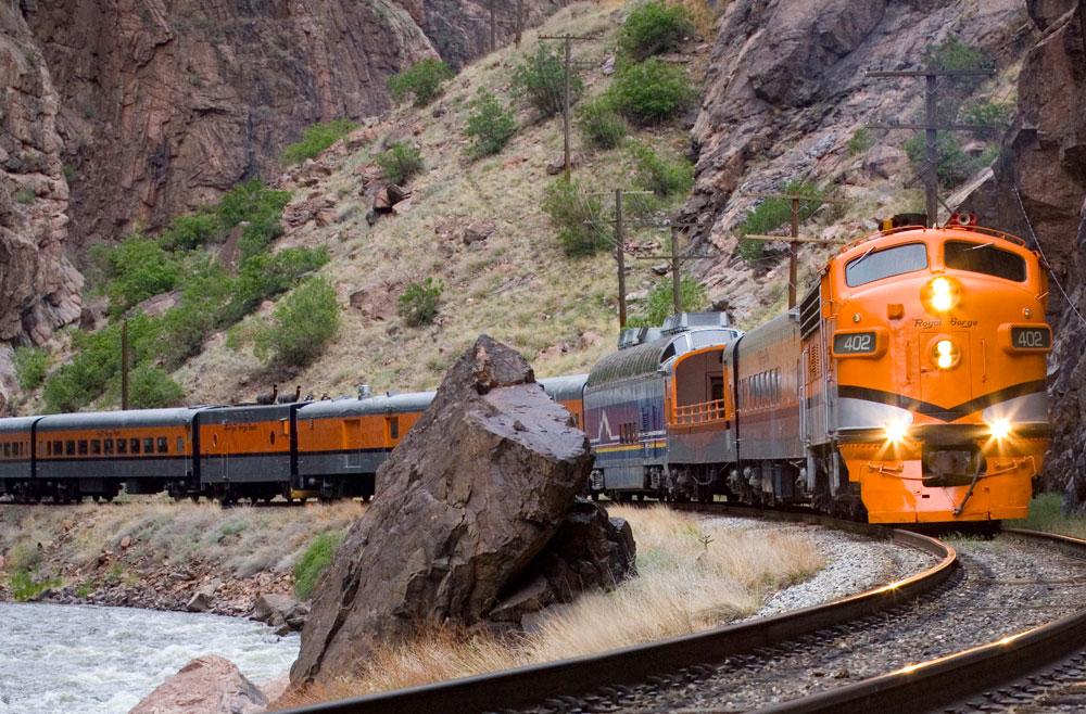 Royal Gorge Route Railroad Cañon City Co