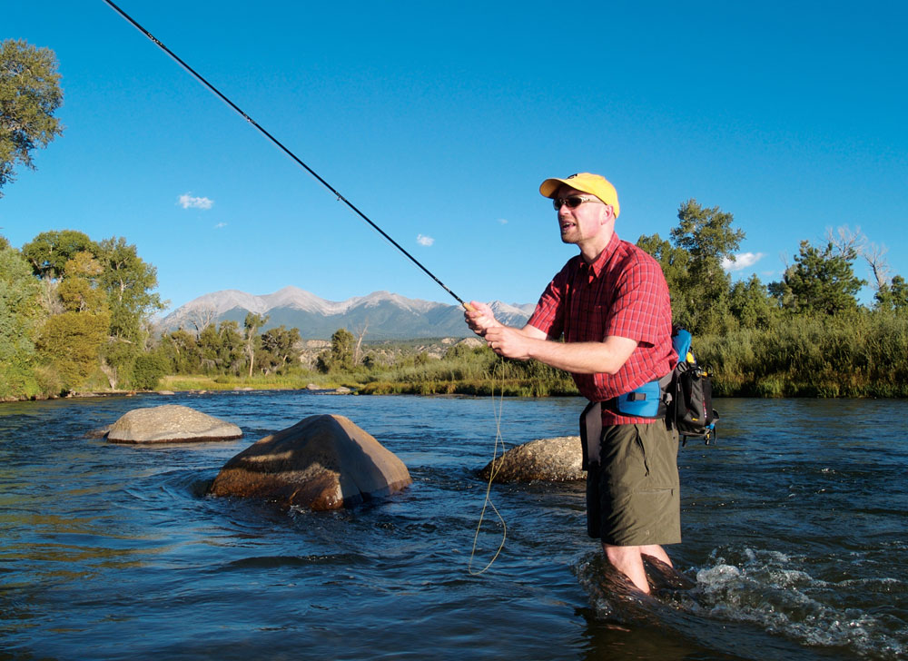 Colorado scenic byway collegiate peaks for Fly fishing arkansas