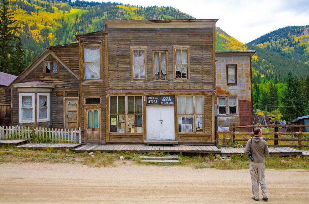 Colorado ghost towns for St elmo colorado cabins