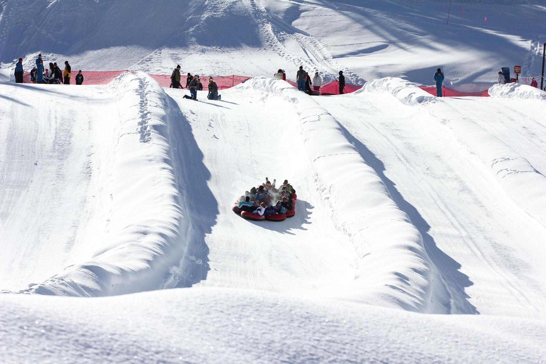 snow tubing & sledding | colorado