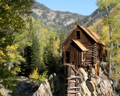 Crystal Mill in Marble, CO